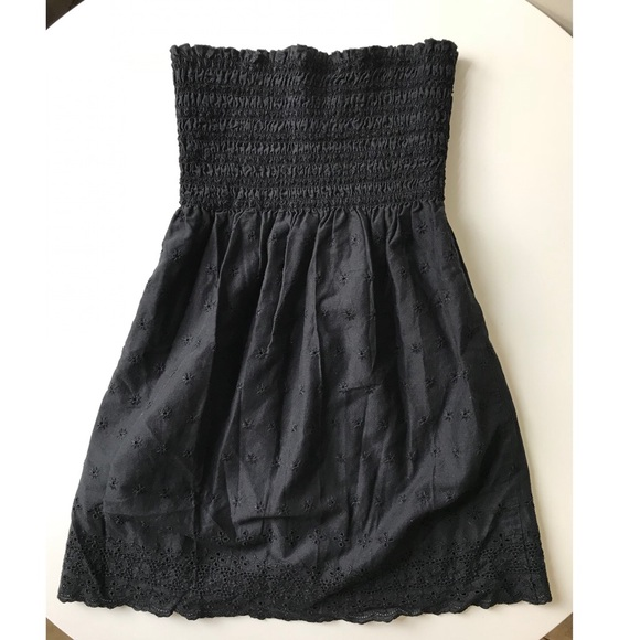 072203b409e Juicy Couture Dresses   Skirts - Juicy Couture Black Cotton swim cover up  dress